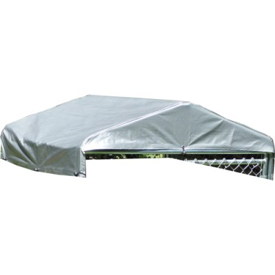 5'W x 5'L Weatherguard Dog Kennel Cover