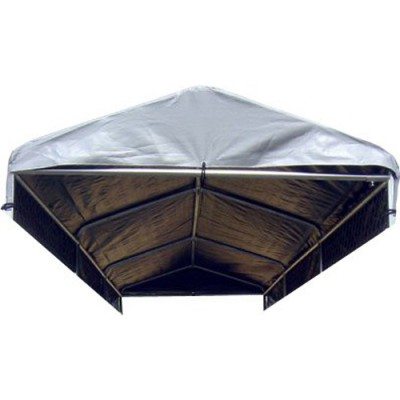 5'W x 15'L Weatherguard Dog Kennel Cover