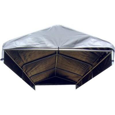 5'W x 15'L Weatherguard Dog Kennel Cover
