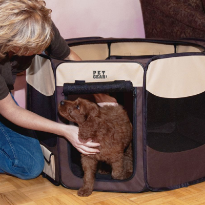 Travel Lite Soft-Sided Pet Pen - thumb