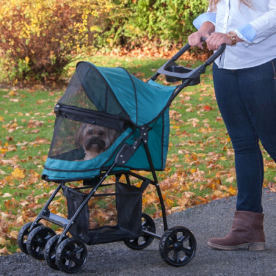 Happy Trails Lite NO-ZIP Pet Stroller 3
