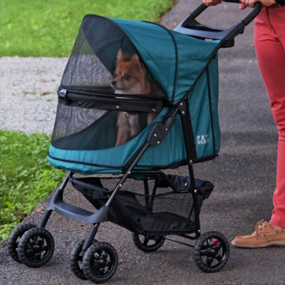 No Zip Happy Trails Standard Pet Stroller 6