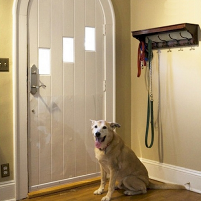 Pet Door Shield Scratch Protection 1