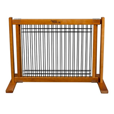 Wood and Wire Pet Gate - Small